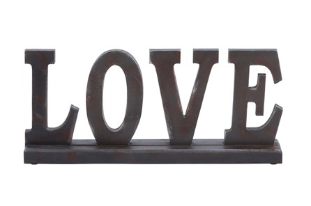 Wood Table Top Love - Main