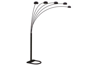Floor Lamp-Spectrum Black