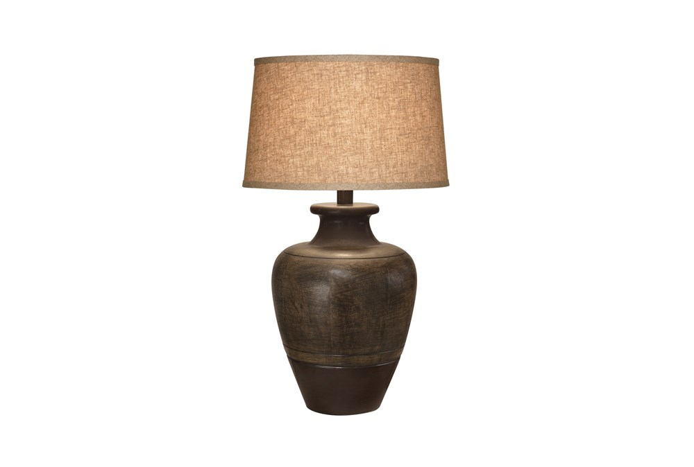 Table Lamp-Bronze Jar
