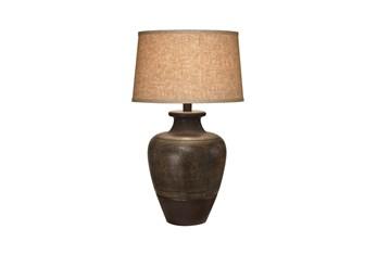 Table Lamp-Bronze Jar