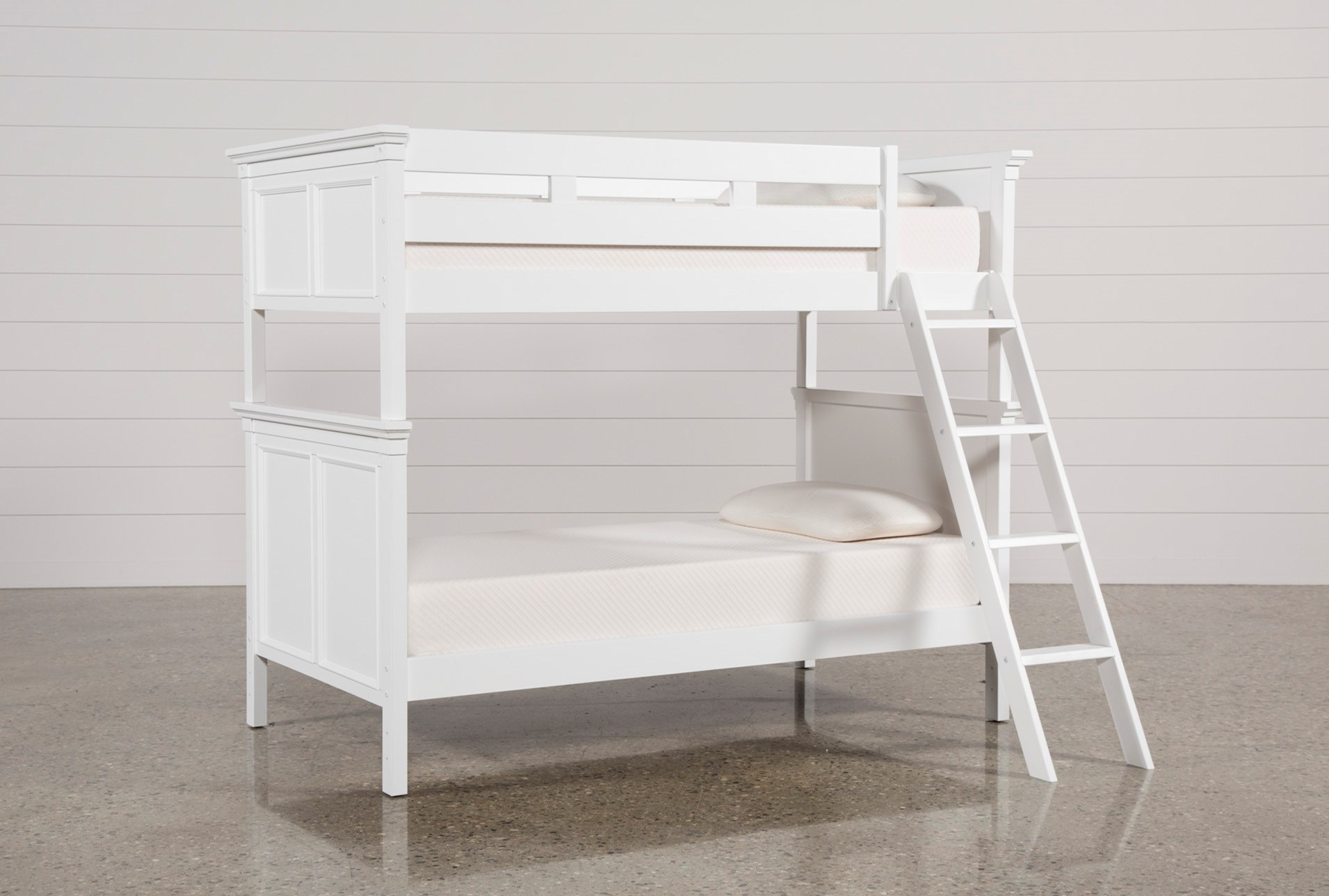Albany Twin Over Twin Bunk Bed | Living Spaces