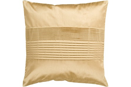 Accent Pillow-Coralline Gold 18X18