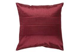 Accent Pillow-Coralline Burgundy 18X18