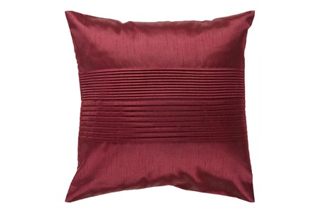 Accent Pillow-Coralline Burgundy 18X18 - Main
