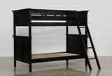 Savannah Twin Over Twin Bunk Bed - Left