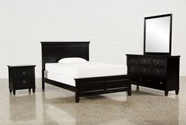 Savannah Full 4 Piece Bedroom Set