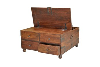 Fort Bar Box Square Coffee Table