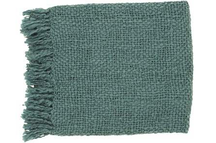Accent Throw-Jace Teal - Main