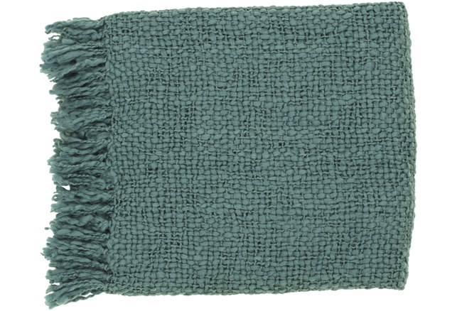Accent Throw-Jace Teal - 360