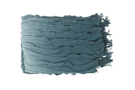 Accent Throw-Gabbi Teal - Main