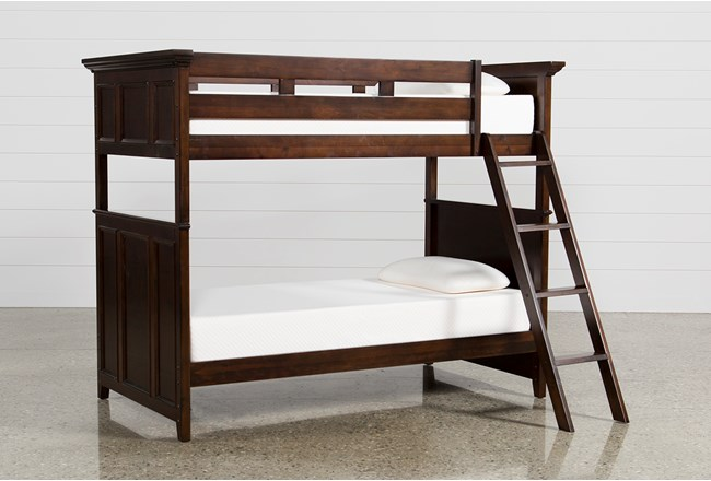 Dalton Twin Over Twin Bunk Bed Living Spaces