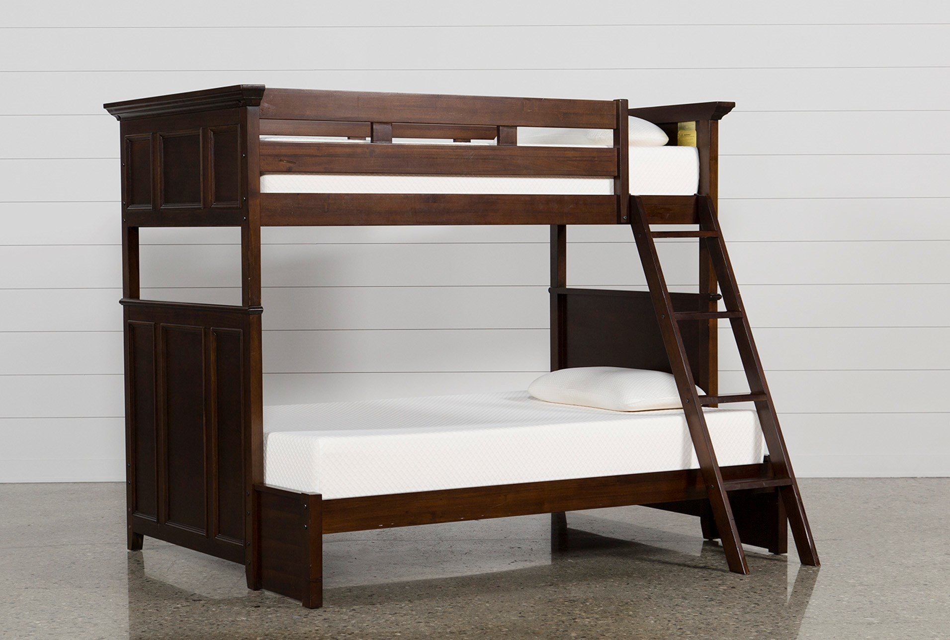 is shaped over stairs a l hardwood in beds twin design with this full bed bunk loft contemporary