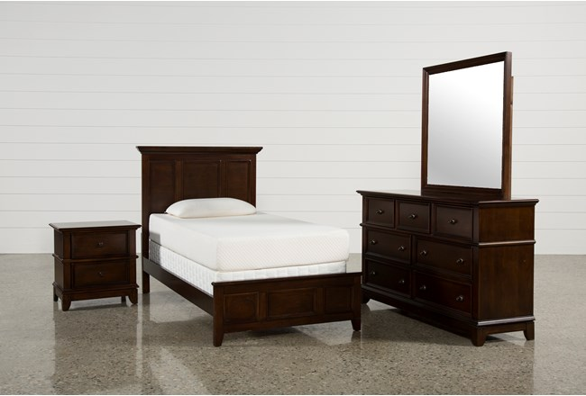 Dalton Twin 4 Piece Bedroom Set | Living Spaces