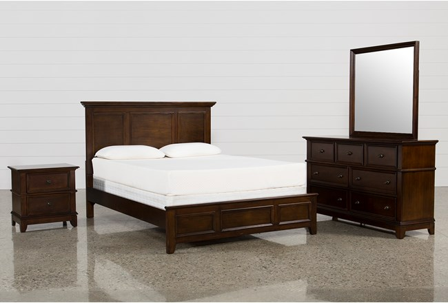 Dalton Full 4 Piece Bedroom Set   Living Spaces