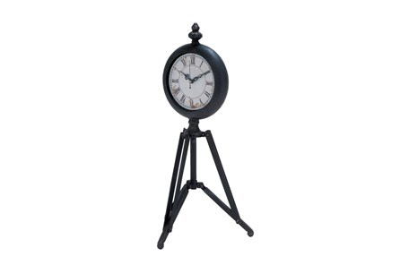 Metal Tripod Clock - Main