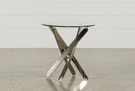 Torrin Round End Table