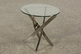 Torrin Round End Table - Back