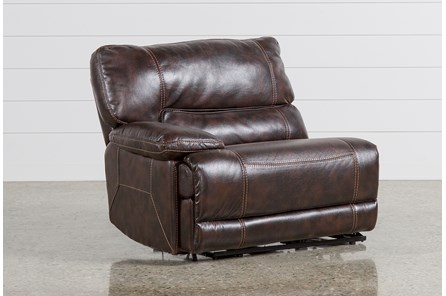 Marx Nutmeg Power Left Facing Recliner - Main