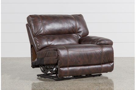 Marx Nutmeg Power Right Facing Recliner - Main