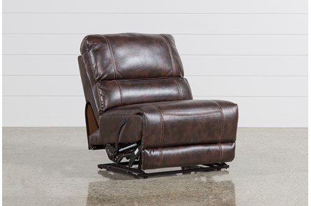 Marx Nutmeg Armless Recliner - Main