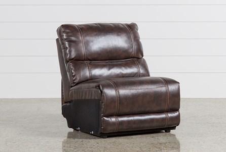 Marx Nutmeg Armless Chair