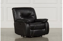 Tyson Black Power Recliner
