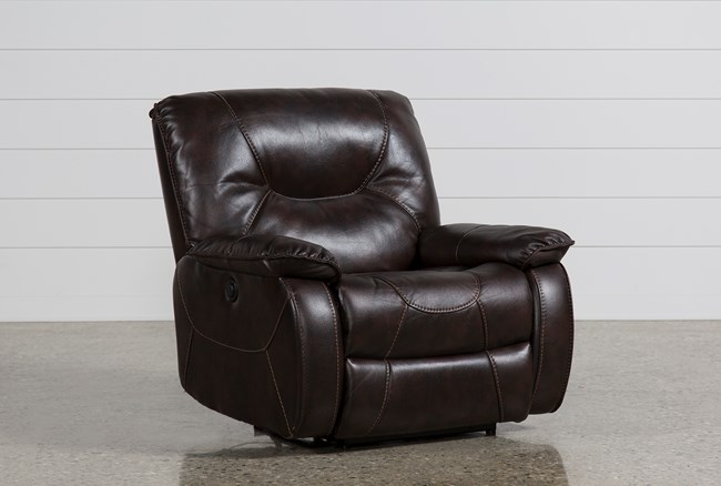 Tyson Nutmeg Power Recliner - 360