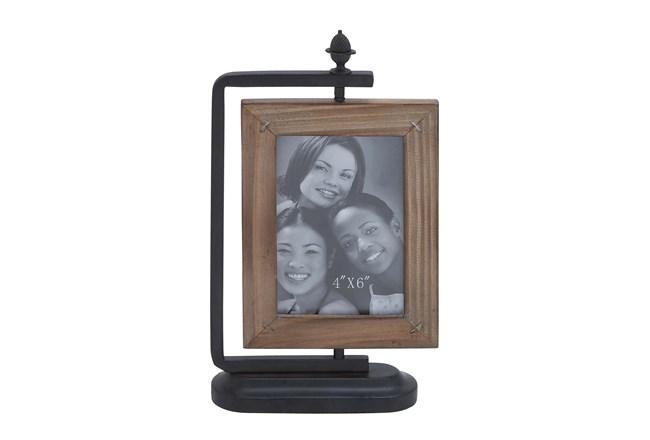 4X6 Metal & Wood Frame   Living Spaces
