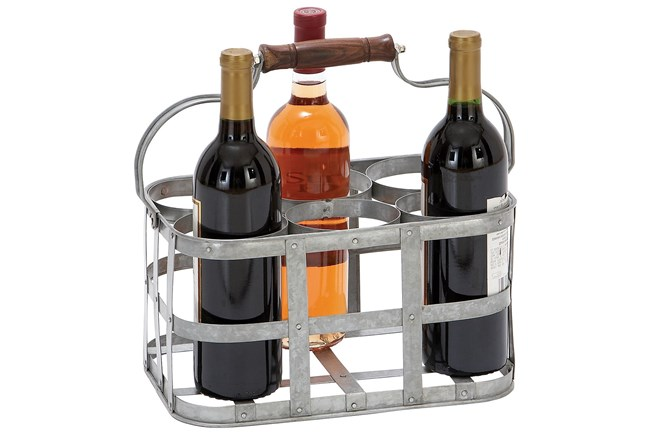 Metal Wine Holder - 360