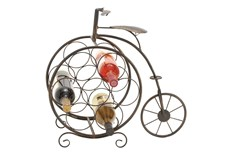Metal Bicycle Wine Rack