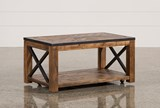 Tillman Rectangle Cocktail Table W/Casters - Signature