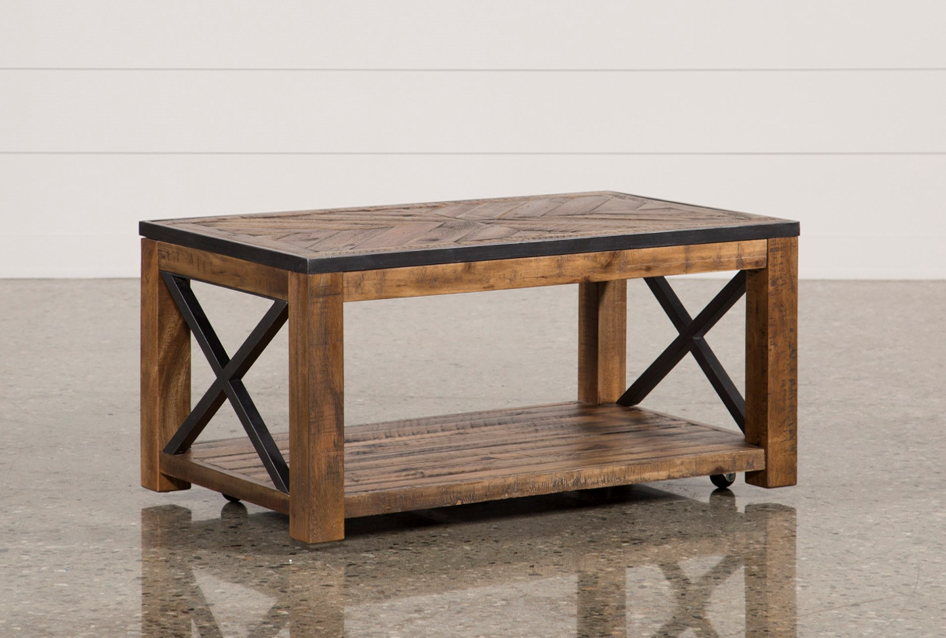 Grant Lift Top Cocktail Table W Casters