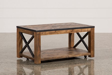 Tillman Rectangle Cocktail Table W/Casters