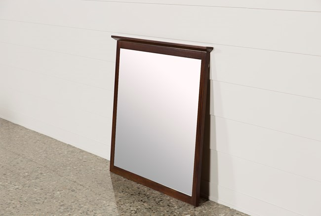Copenhagen Brown Mirror - 360