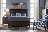 Copenhagen Brown Eastern King Panel Bed - Room