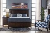 Copenhagen Brown California King Panel Bed - Room