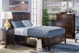Copenhagen Brown California King Storage Bed - Room
