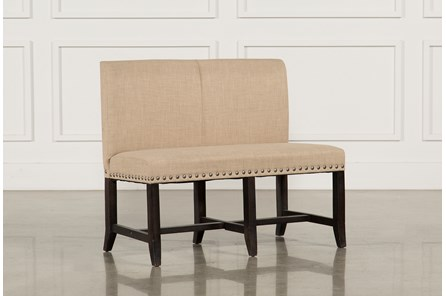 Jaxon Upholstered High-Back Bench - Main
