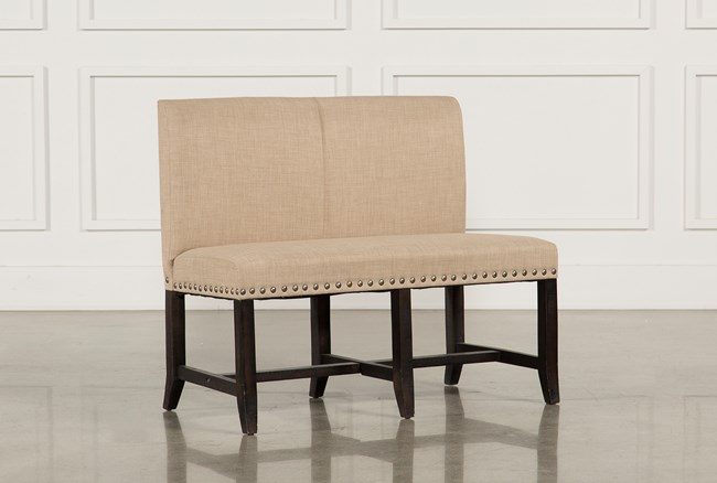 Jaxon Upholstered High-Back Bench - 360