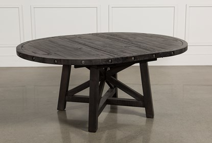 Jaxon Round Extension Dining Table Living Spaces