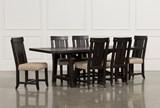 Jaxon 7 Piece Rectangle Dining Set W/Wood Chairs - Signature