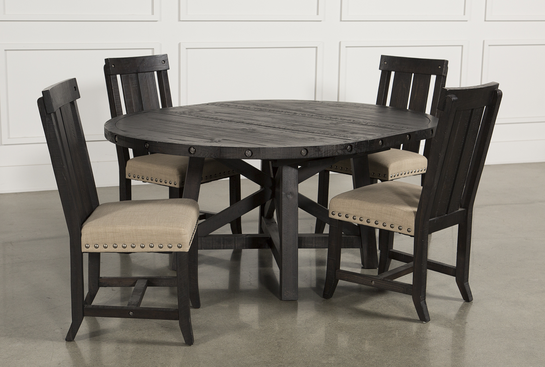 round extending table and chairs Off 9   www ...