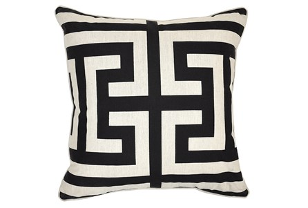Accent Pillow-Estate Black 22X22