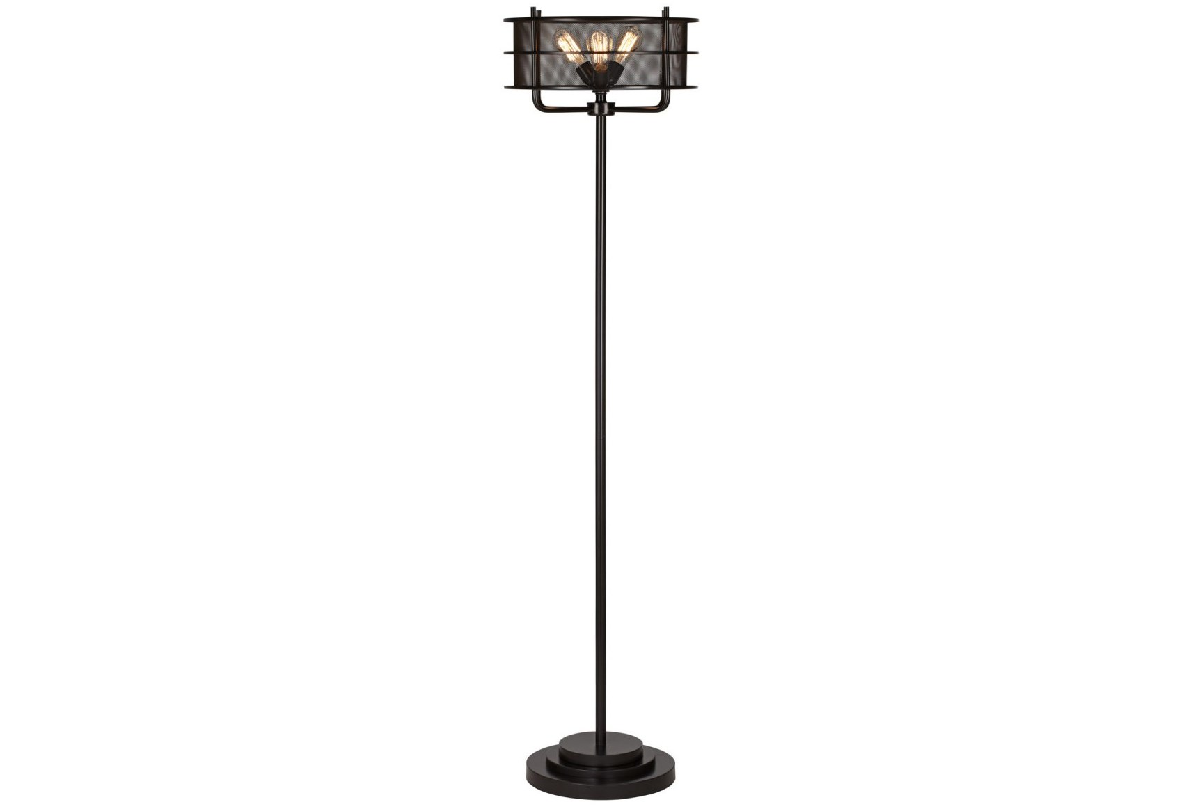 Lamps living spaces green table buffet lamps living for Best floor lamp for large room