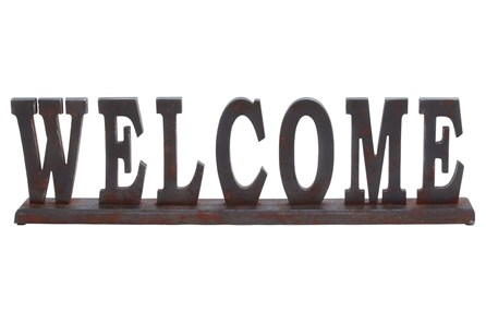 Wood Table Top Welcome - Main