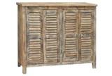Sayyid Shutter 4-Door Cabinet - Signature