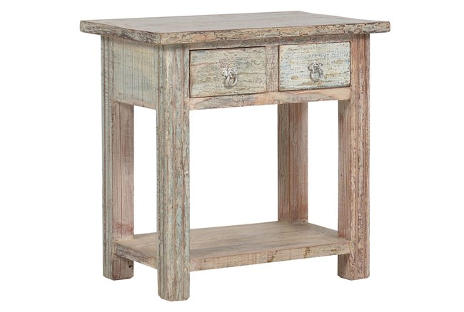 Issa 2-Drawer Table - 360