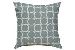 Accent Pillow-Grey Links 18X18