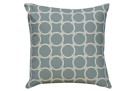 Accent Pillow-Grey Links 18X18