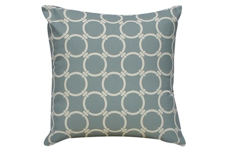 Accent Pillow-Grey Links 18X18 - Main